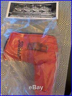 Scotty Cameron -Standard US Flag Red Blade HC WithDivot Tool NIB