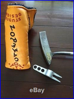 Scotty Cameron Studio Design 2 putter with headcover and divot tool