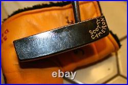 Scotty Cameron Studio Design Number 5 Black Pearl Putter! Bag HC & Tool 35