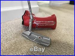 Scotty Cameron Studio Stainless Newport 2 Titleist Putter Headcover Divot Tool
