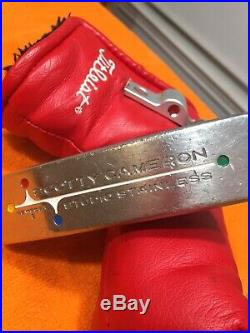 Scotty Cameron Studio Stainless Newport 2, with Headcover & Pivot Tool, RH. 33