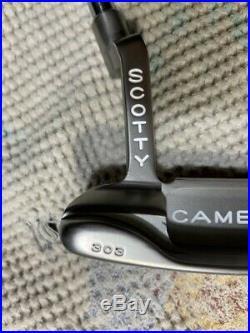 Scotty Cameron Studio Stainless Newport Beach 35 Putter Headcover Pivot Tool