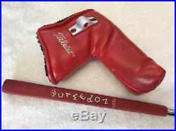 Scotty Cameron Studio Stainless Newport Beach 35 Putter withCover & Tool GREAT