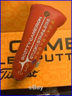 Scotty Cameron Studio Stainless circle T tour J. A. T RED withTool Headcover Rare