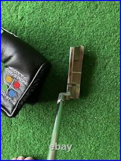 Scotty Cameron Studio Style Newport. 35 inch. New grip and headcover with tool
