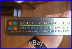 Scotty Cameron Studio Style RH INCLUDES orange wave HC& Pivot tool/ball marker