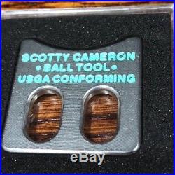 Scotty Cameron TIFFANY RARE Putting Alignment Ball Window Coin Tool NIB