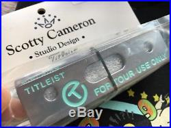 Scotty Cameron Tiffany Blue Putting Path Tool