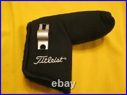 Scotty Cameron Titleist 2003 Prototype Putter Cover Headcover Black Suede W Tool