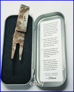 Scotty Cameron Titleist 2009 Camo Camouflage Pivot/Divot Tool
