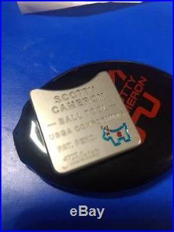Scotty Cameron Titleist Blue ball Tool USGA Conforming Tool Rare New Black Case