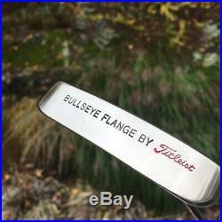 Scotty Cameron / Titleist Bullseye Platinum Flange Putter / Hc And Divot Tool