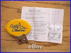 Scotty Cameron Titleist Orange/Yellow Windows Ball Marker USGA Conforming Tool