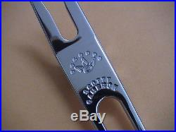 Scotty Cameron Titleist Rare Stainless Steel Pivot Divot Putter Tool! Oval Tool