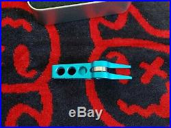 Scotty Cameron Tour High Roller Clip Pivot Divot Tool Turquoise FTUO Gallery Exc