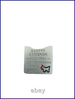 Scotty Cameron Yellow Black Ball Marker Junkyard Dog Ball Tool Coin GOLF Limite