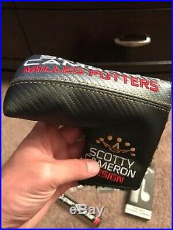 Scotty Cameron headcovers, tool and weights