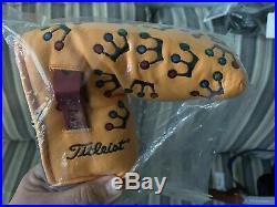TITLEIST SCOTTY CAMERON 2002 YELLOW MINI CROWNS PUTTER HC withPIVOT TOOL NEW NIB