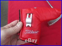 Titleist Scotty Cameron Newport Studio Stainless Excellant Matching H/c & Tool
