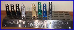 Titleist Scotty Cameron 48 Units Pivot Divot Tool Display Rack Incl 8 Pivots