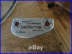 Titleist Scotty Cameron California Del Mar 35 Putter + weights+tool