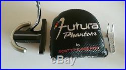 Titleist Scotty Cameron Futura Phantom Putter RH 35 Headcover Divot Tool