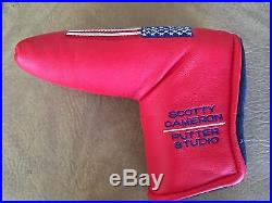 Titleist- Scotty Cameron RED USA Large American Flag HeadCover - Divot Tool