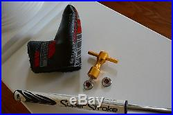 Titleist Scotty Cameron Select GOLO Putter plus tool, weights and headcover RH