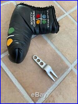 Titleist Scotty Cameron Studio Style Newport 2.5 Putter 35 with Headcover & Tool