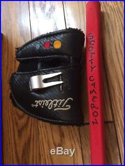 Titleist Scotty Cameron Tour Issue Futura Phantom Putter-34-withHead Cover & Tool