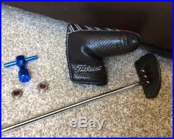 Titleist scotty cameron Select Golo S 33 Putter With Head cover, Tool & Weights